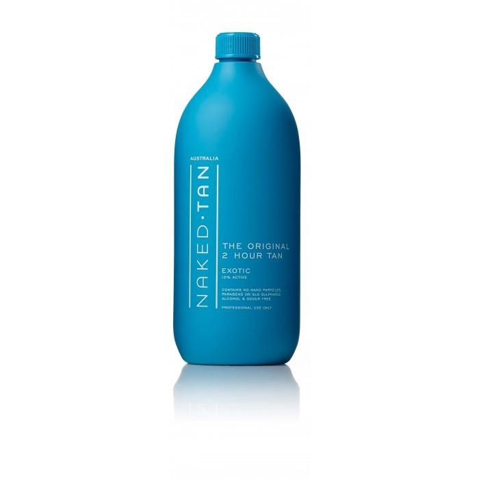 Naked TAN Spray Tanning Solution 2 Hours Exotic TAN Dark