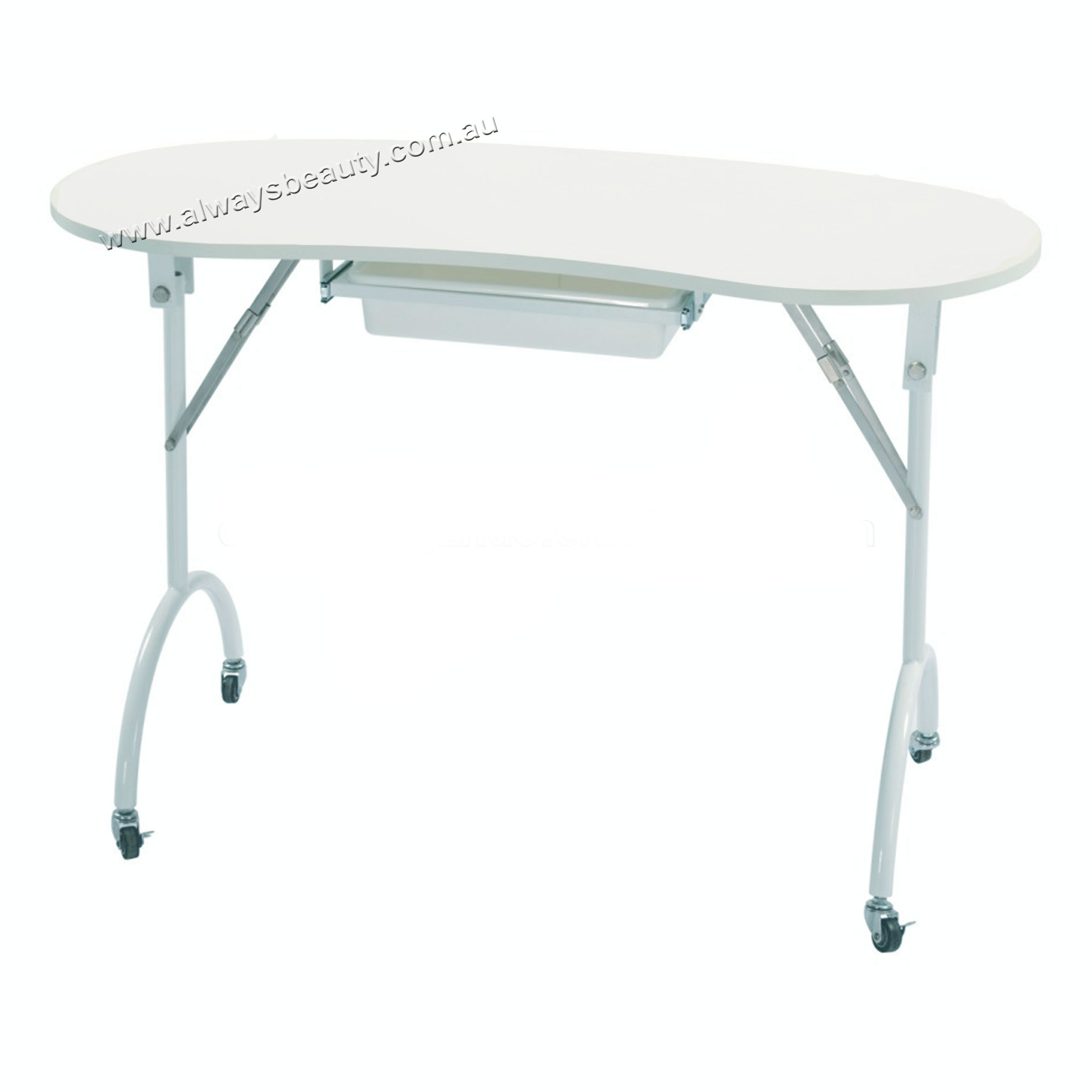 150 Portable Manicure Table With Drawer Cushion Always Nail Beauty Supply